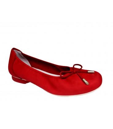 SABRINAS 80000 Nobuck Rojo