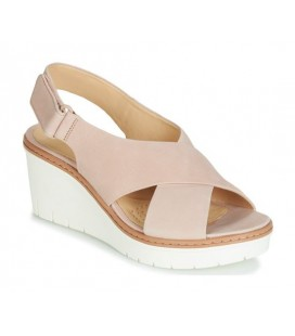 CLARKS PALM CANDID Nobuck Nude