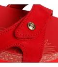 PANAMA JACKSuliaBasi B9 Rojo Nobuck