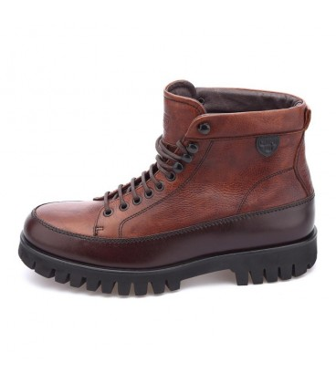 CHOPO7400 WORK BOOTS Marron/Cuero