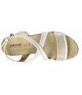 GEOX ABBIE White Silver